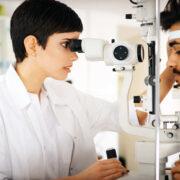 Comprehensive eye examination and diagnosis